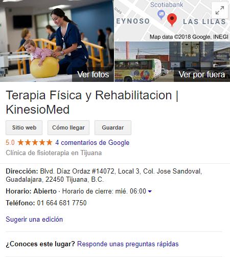 Terapia Física y Rehabilitación Tijuana